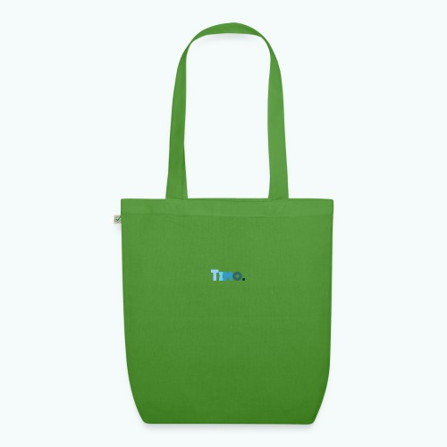 Timo in blauwe tinten - Bio stoffen tas