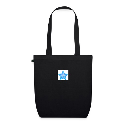 blue themed christmas star 0515 1012 0322 4634 SMU - EarthPositive Tote Bag
