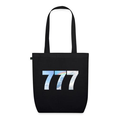 777 un nombre de chance et spirituel. - Sac en tissu biologique
