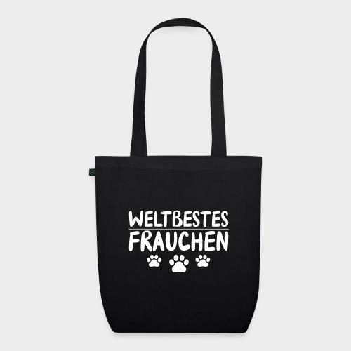 Weltbestes Frauchen Hundeliebe Hund - Bio-Stoffbeutel