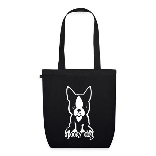 spooky dog sitzend - EarthPositive Tote Bag