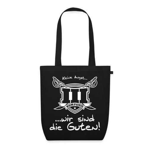 wappen motto ruecken - Bio-Stoffbeutel