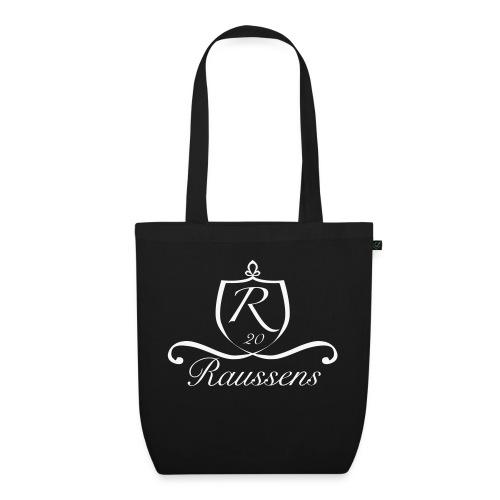 Die Raussens / Logo weiss - Bio-Stoffbeutel