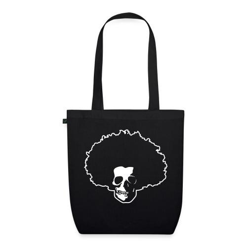 Afro Skull - Bio-Stoffbeutel