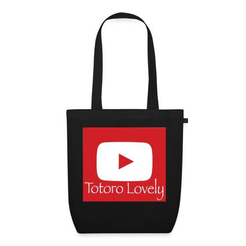 Totoro Lovely + YT logo bak, fram - Ekologisk tygväska