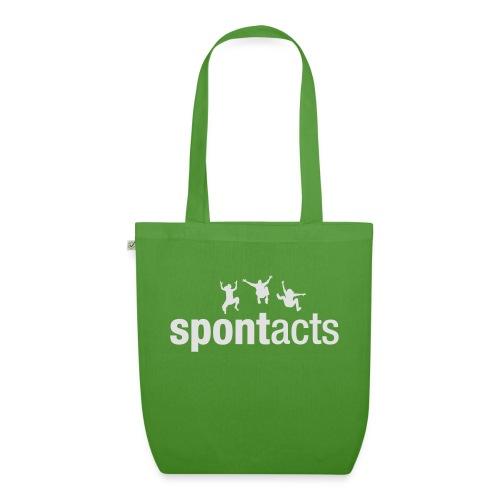 spontacts_Logo_weiss - Bio-Stoffbeutel
