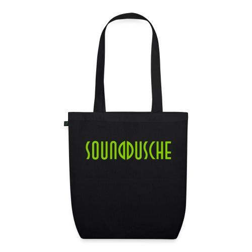 sounddusche schriftzug shirt - Bio-Stoffbeutel