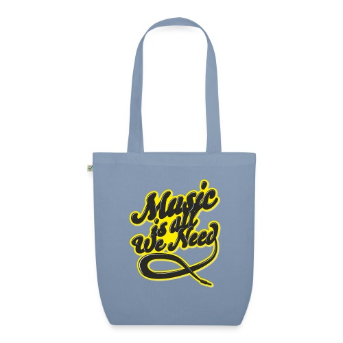 Music Is All We Need - EarthPositive Tote Bag