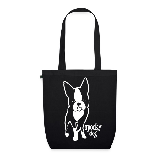 spooky dog stehend - EarthPositive Tote Bag
