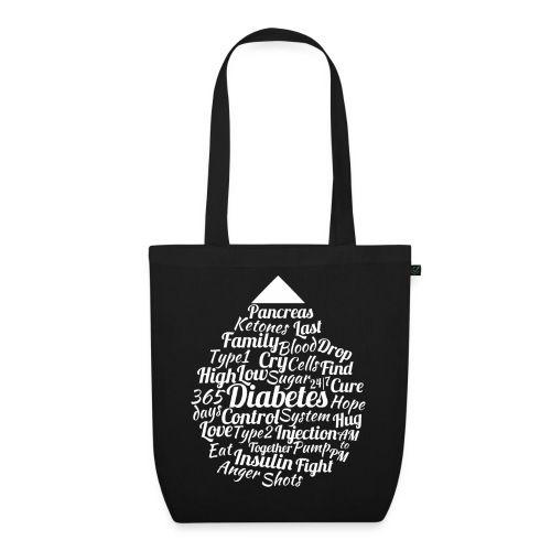 CURE DIABETES - EarthPositive Tote Bag