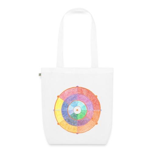 Creativity Rainbow originale png - Borsa ecologica in tessuto