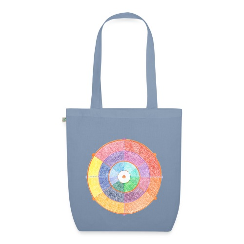Creativity Rainbow originale png - Borsa ecologica in tessuto
