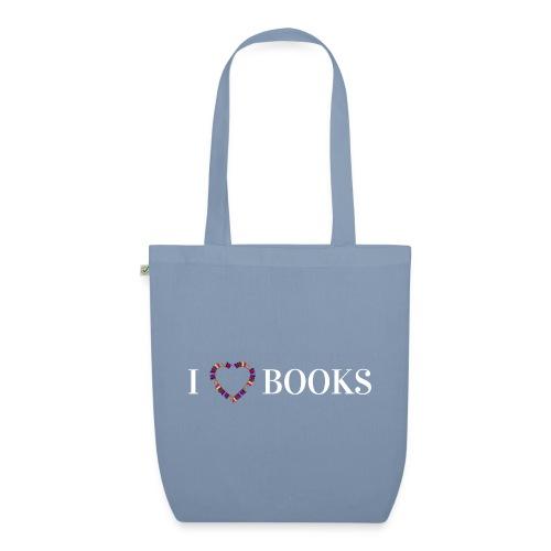 I love Books - Bio-Stoffbeutel