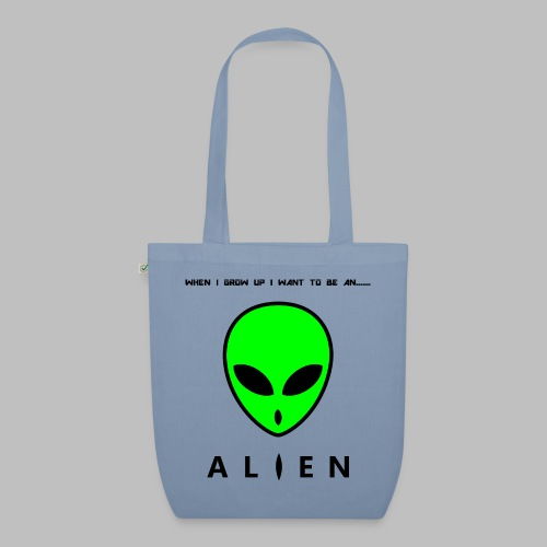 Alien - EarthPositive Tote Bag