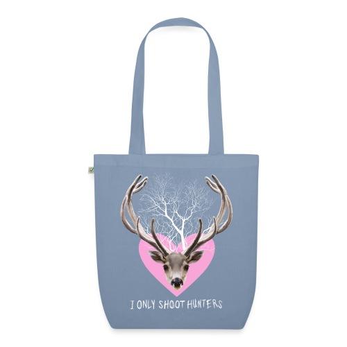 HERT roze voor tas - EarthPositive Tote Bag