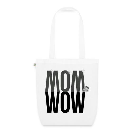 MOM WOW dunkel - Bio-Stoffbeutel