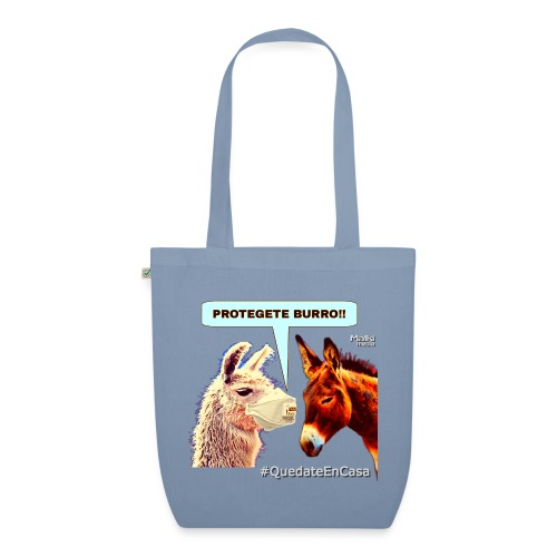 PROTEGETE BURRO - EarthPositive Tote Bag