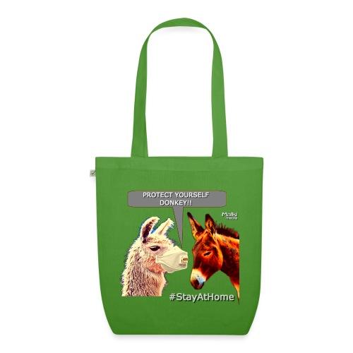 Protect Yourself Donkey - Coronavirus - Bio-Stoffbeutel