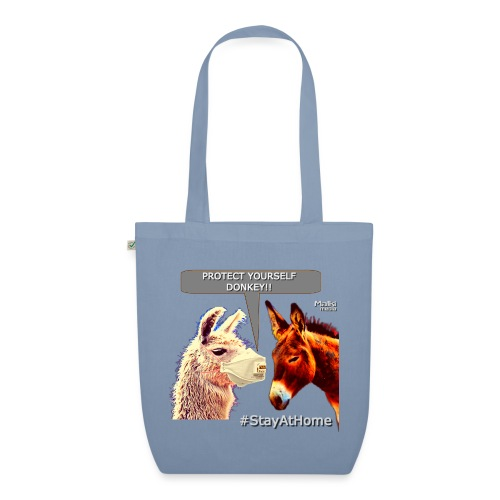 Protect Yourself Donkey - Coronavirus - Bolsa de tela ecológica