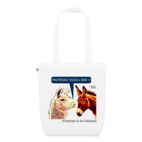PROTEGEZ-VOUS L'ÂNE !! - Coronavirus - EarthPositive Tote Bag
