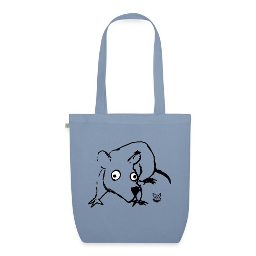 one line mouse - Borsa ecologica in tessuto