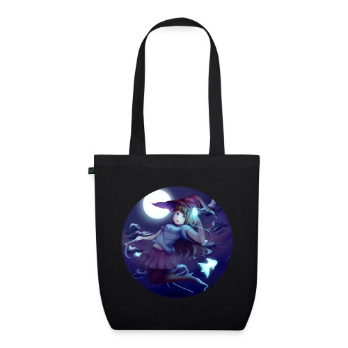 Witch in the Night - Borsa ecologica in tessuto