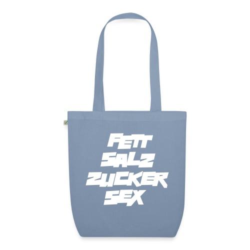 fett_salz_zucker_sex - Bio-Stoffbeutel
