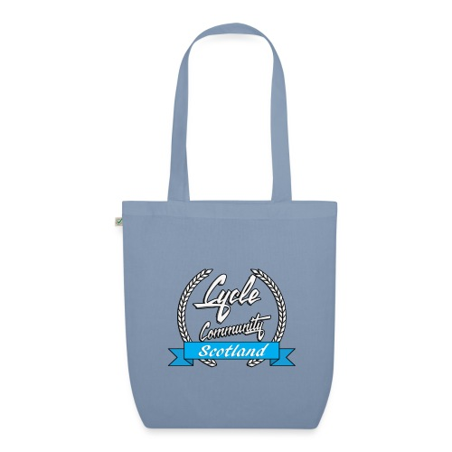 cycle community scotland Big tee - EarthPositive Tote Bag