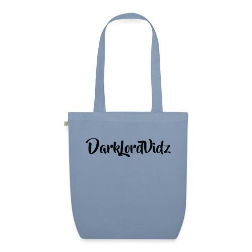 DarklordVidz Black Logo - EarthPositive Tote Bag