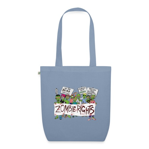 Zombie Rights Demo - EarthPositive Tote Bag