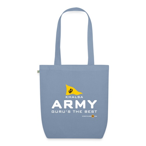 Khalsa ARMY Guru s the BEST white - EarthPositive Tote Bag