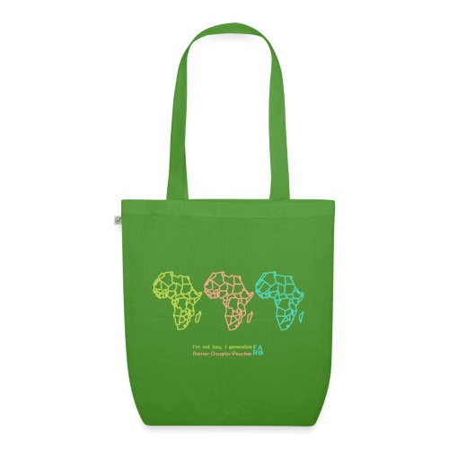 Ramer-Douglas-Peucker Algorithm -Africa - EarthPositive Tote Bag