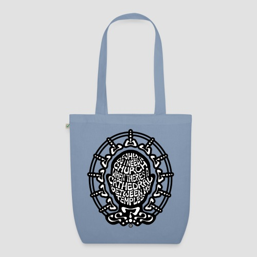 FREE THINKER (b/w) - EarthPositive Tote Bag