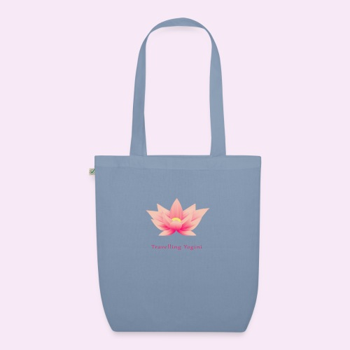 Travelling Yogini Logo - EarthPositive Tote Bag