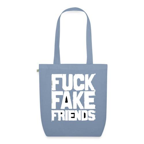 FUCK FAKE FRIENDS - Ekologiczna torba materiałowa