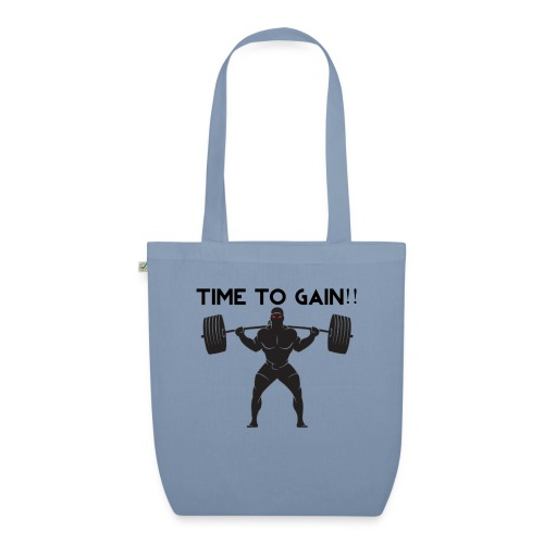 TIME TO GAIN! by @onlybodygains - EarthPositive Tote Bag