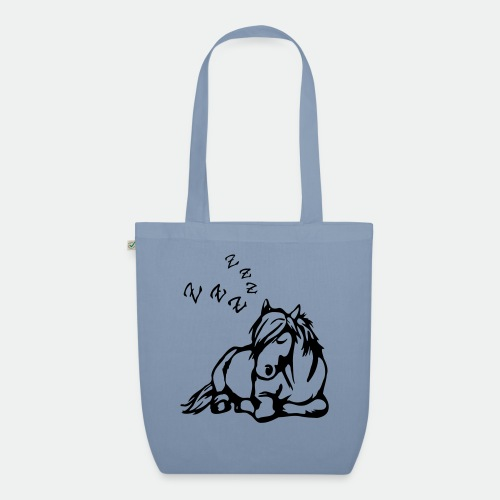 ZZZ Schlafendes Pferd - EarthPositive Tote Bag