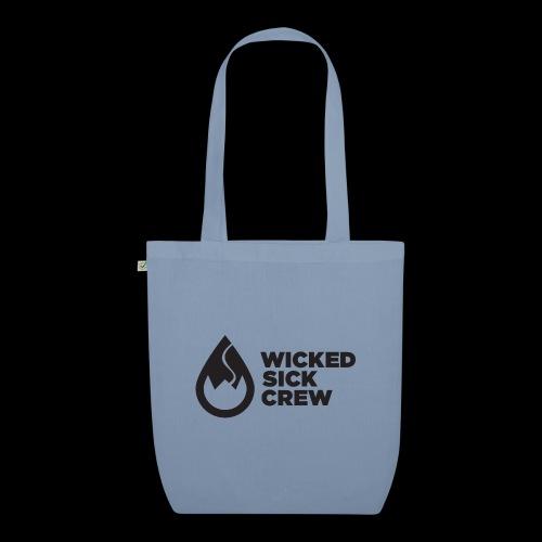 Wicked Sick Crew Tropfen schwarz - Bio-Stoffbeutel