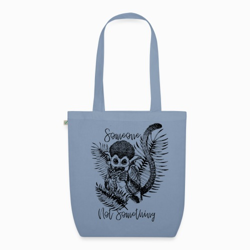 Someone Not Something Monkey - EarthPositive Tote Bag