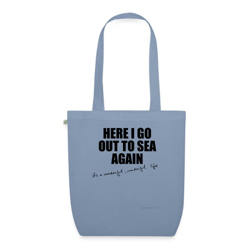 Here I go out to see again - EarthPositive Tote Bag