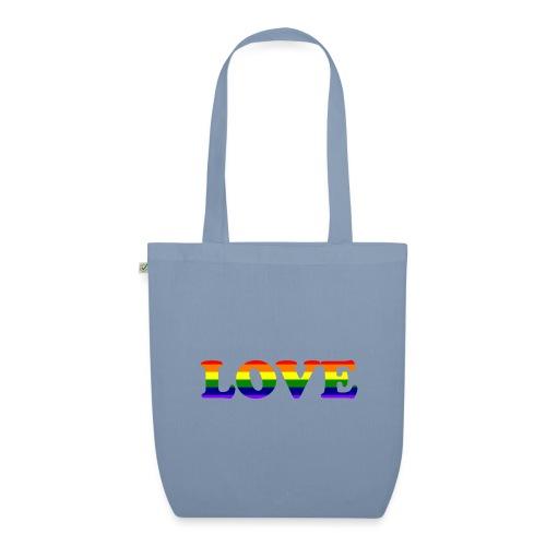 LOVE Rainbow #1 - Bio-Stoffbeutel