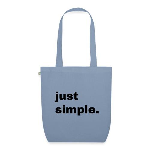 just simple. Geschenk Idee Simple - Bio-Stoffbeutel