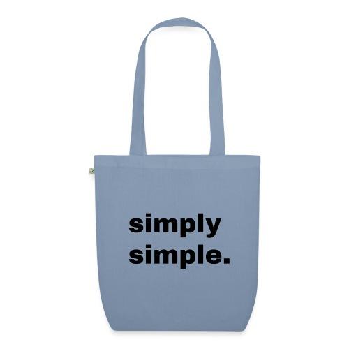 simply simple. Geschenk Idee Simple - Bio-Stoffbeutel
