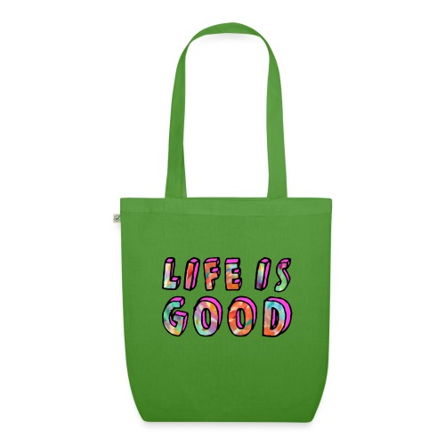 LifeIsGood - EarthPositive Tote Bag