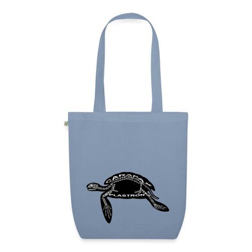 zeeschildpad - Bio stoffen tas