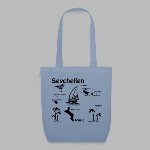 Seychellen Insel Crewshirt Mahe etc. - Bio-Stoffbeutel