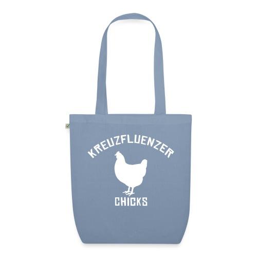 Kreuzfluenzer Chicks WHITE - Bio-Stoffbeutel