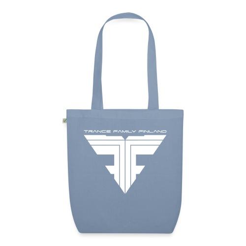 TFF Logo White - Luomu-kangaskassi
