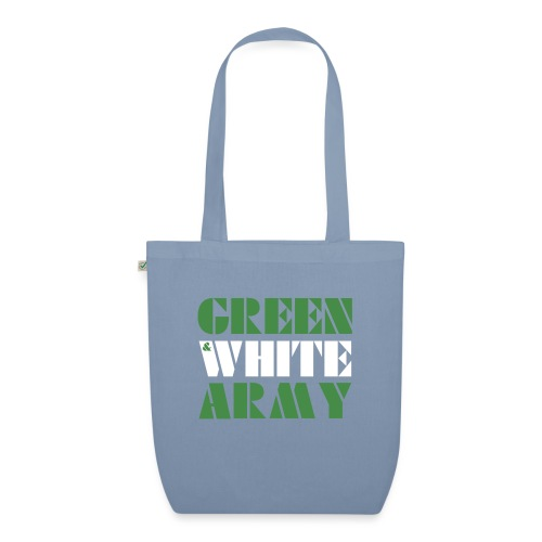 GREEN & WHITE ARMY - EarthPositive Tote Bag