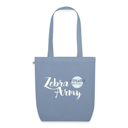 Zebra Army (white) - EarthPositive Tote Bag